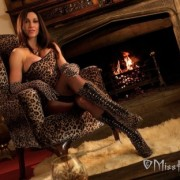 Miss Hybrid – Nylon clad legs in boots