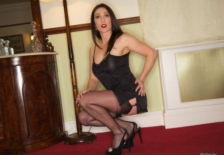 miss hybrid pictures  miss hybrid stockings