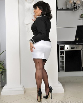 Amandy Nylons - german nylon fetish lady