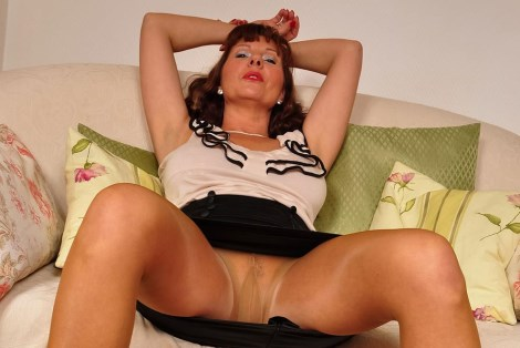 Pantyhose sex video by Sophia Million