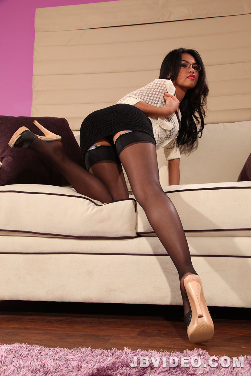 Hot girls in nylons