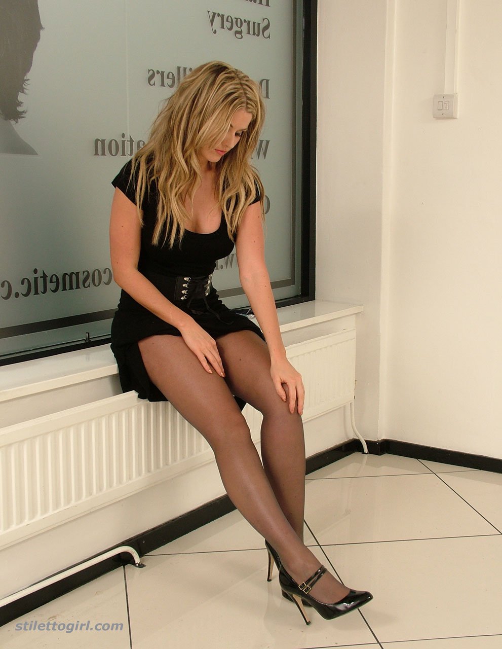 Babes in stockings and heels