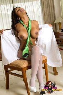 Big Tits Asian girl Lulu - Thai sex bomb