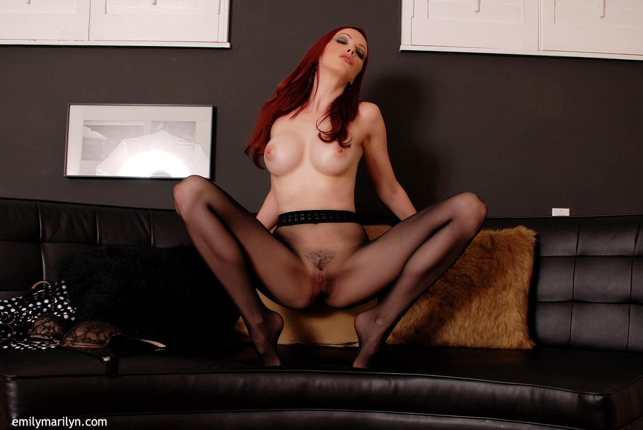 Tell Emily in pantyhose sorry