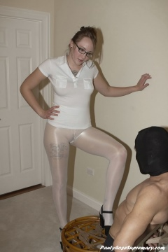 Pantyhose feet cock tease Mistress Svetlana - Pantyhose Supremacy
