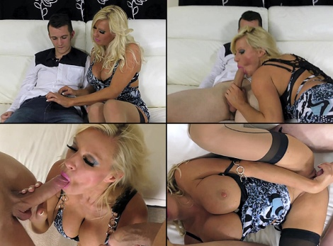 Porn video Hot big tits stockings milf Fucks Young Virgin Cock / Michelle Thorne sex