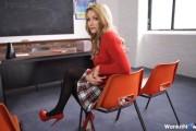 Slutty college girl in stockings video – Penny L @ Wankitnow