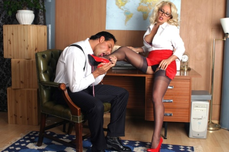 Office stockings sex video Miniskirt nylon secretary Leggy Lana Cox