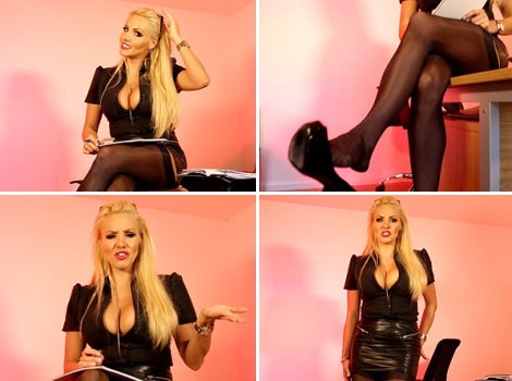dannii-harwood-video-black-stockings-heels-dangling
