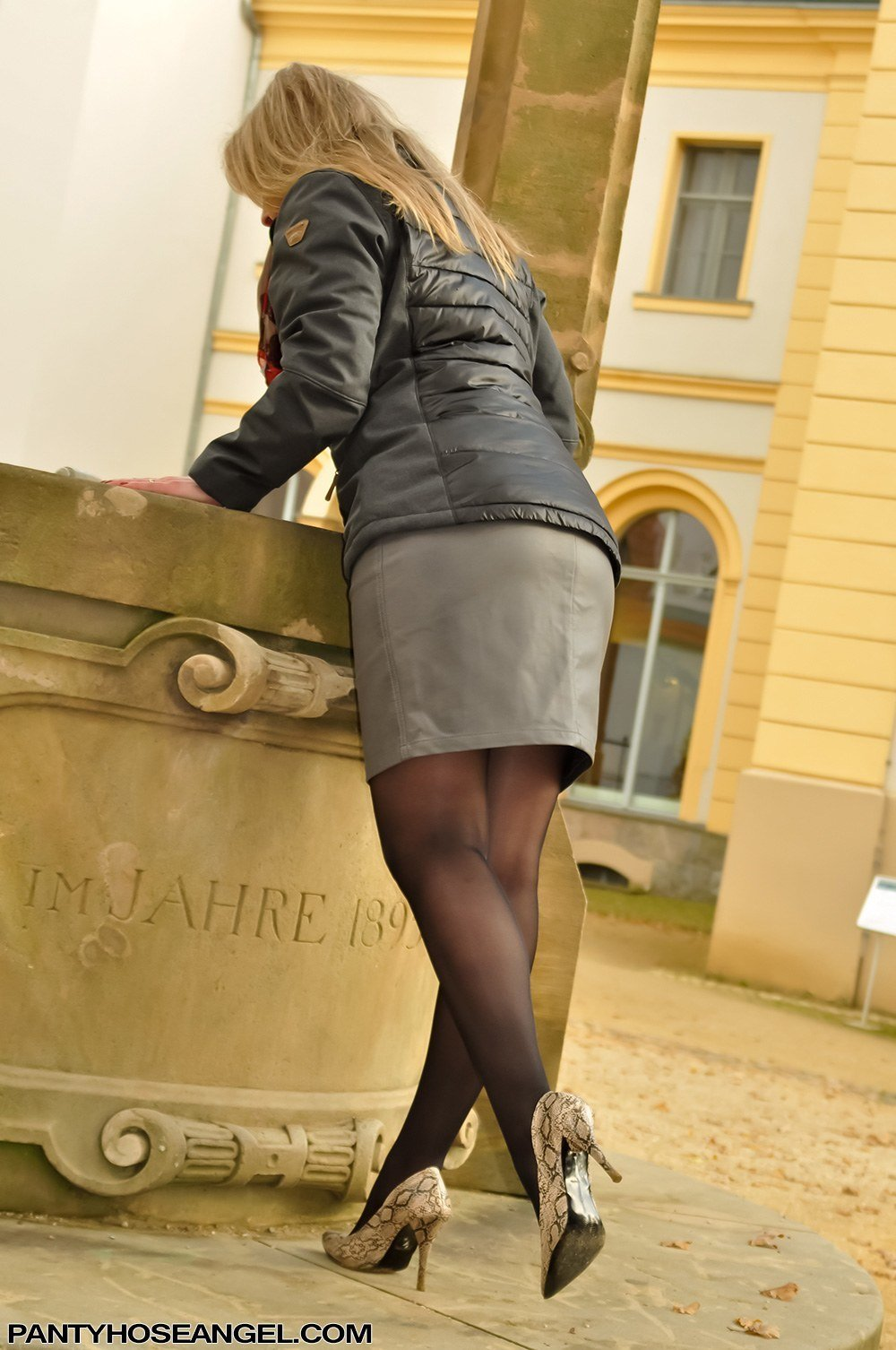 Mature feet in pantyhose apologise, there