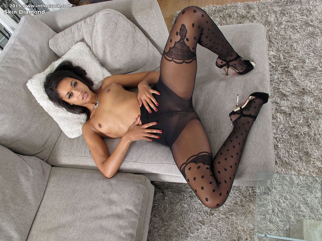 Ebony milfs in pantyhose