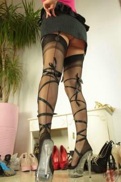 Vixen nylon wife shoe fetish pictures