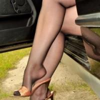 Car pantyhose feet pics – Pantyhose Angel Lovette
