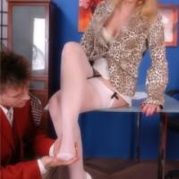 Nylon stockings footjob pictures – Nylon Angel Lovette