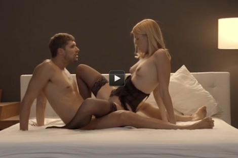 Sexy young girl stockings sex video X ART blonde babe