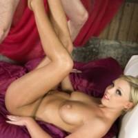 Pantyhose footjob video and pics Scarlet Lovatt Pantyhosed4U