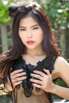 Asian perky tits in sheer top Veevie @ TheBlackAlley