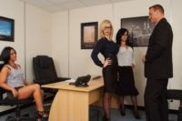 Female boss – office handjob, blowjob video and pics @ PureCFNM