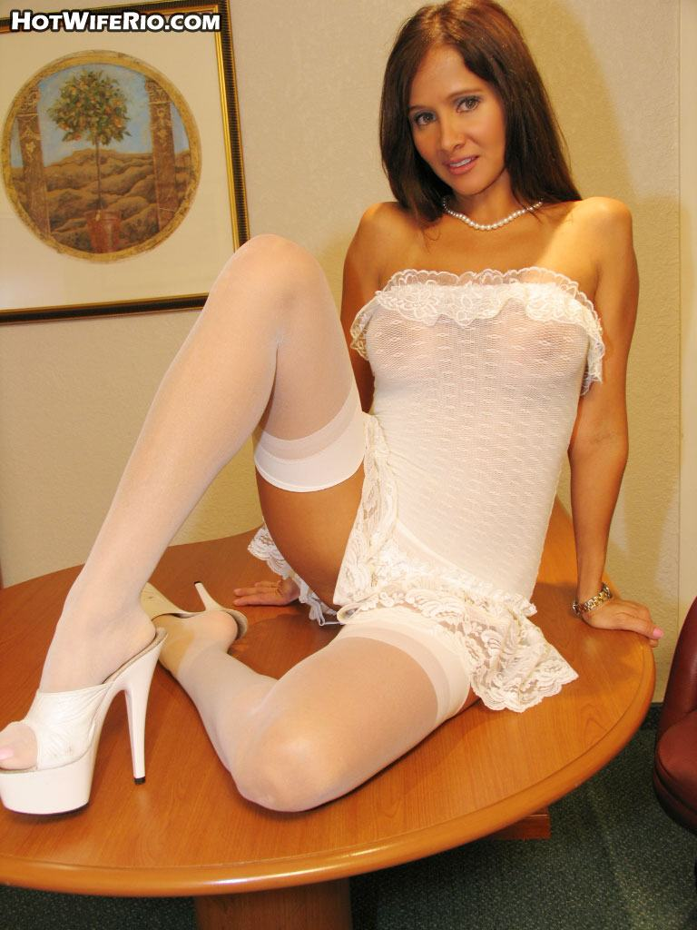 Confirm. hot babe in white nylons phrase