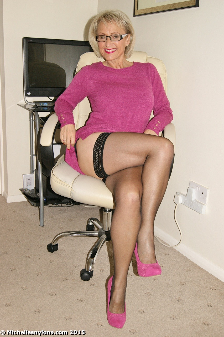 Pity, that My mature wife stockings remarkable topic