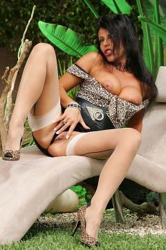 Hot nylon model Eve pics German footfetish model fucks her pussy