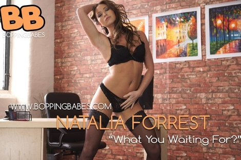 "Natalia Forrest video ""what are you waiting for"" bopping babes"