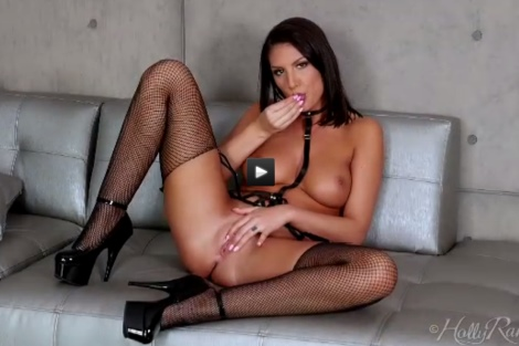 August Ames video hot pussy fingering masturbation Nude black hair milf