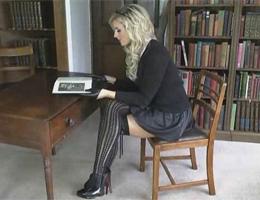 St Mackenzies videos Amy Green nude schoolgirl uniform stockings heels